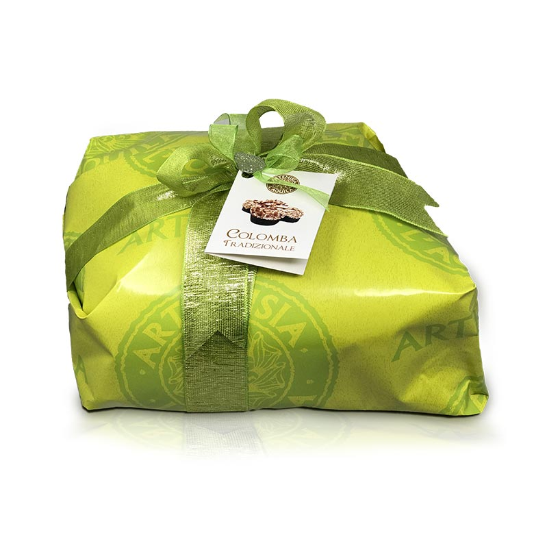 Traditional Colomba, hand wrapped